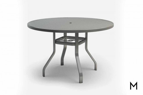 "Breeze Balcony Table 54"" with Umbrella Holes"