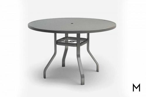 "Breeze Balcony Table 54"" with Umbrella Holes"