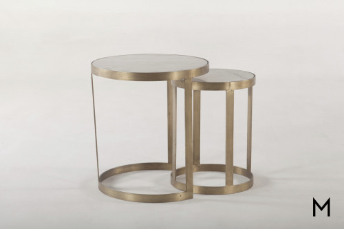 Michael Angelo Nesting Side Table
