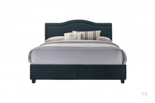USB Queen Storage Bed with Storage Dawers
