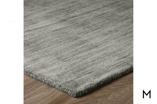 Rafia Charcoal Wool Area Rug 9'x13'