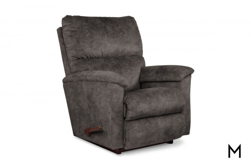 Brooks Rocking Recliner in Slate Gray
