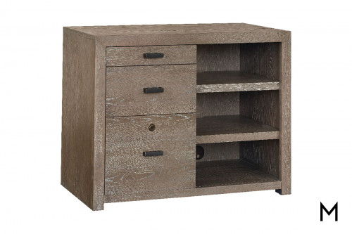 Home Office Work Center with 3 Drawers