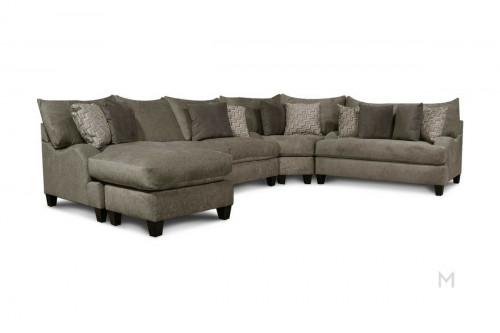 Del Mar Ultra Plush Sectional