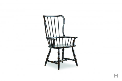 Sanctuary Dining Arm Chair with Spindle Back