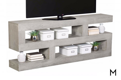 Nova S-Shaped Console in Heather Gray