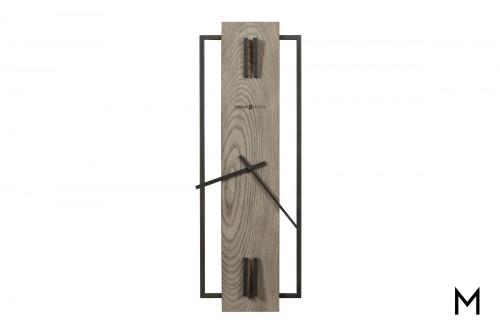 Hardwood I Wall Clock