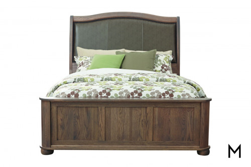 Kingsport King Bed with Low Footboard