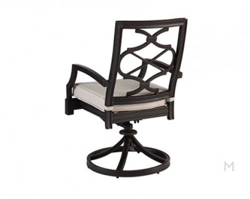 Carol Outdoor Swivel Rocker