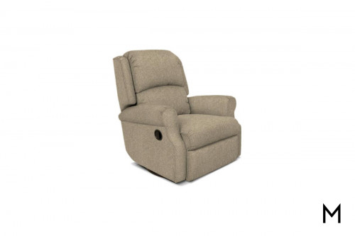 Marybeth Rocker Recliner in Jig Linen