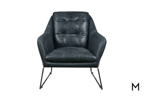 Marina Accent Chair in Black