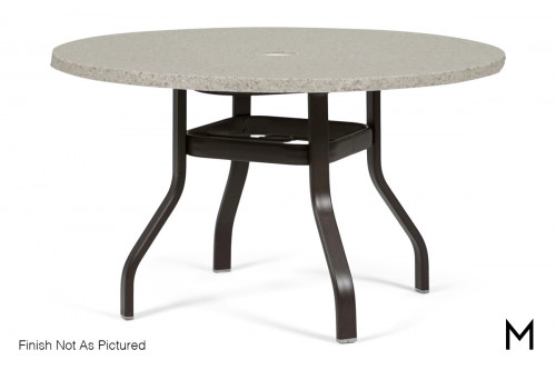 "Shadow Rock 48"" Outdoor Table"