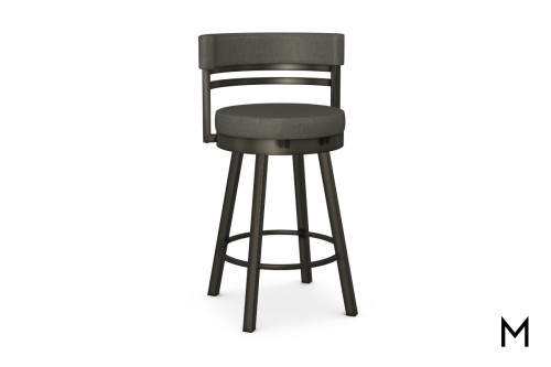 Ronny Counter Stool in Elephant Gray