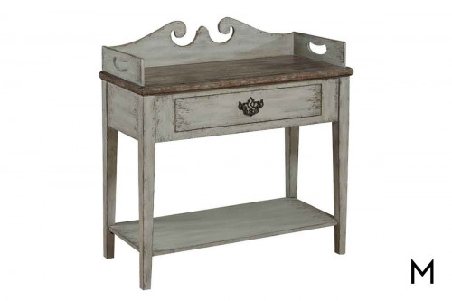 Sophia Accent Table in Weathered Gray
