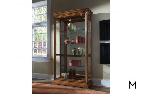 Sliding Curio Cabinet