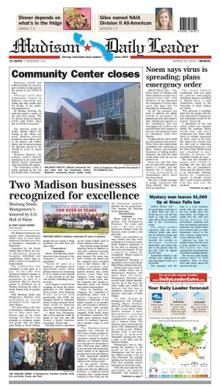 madison daily leader