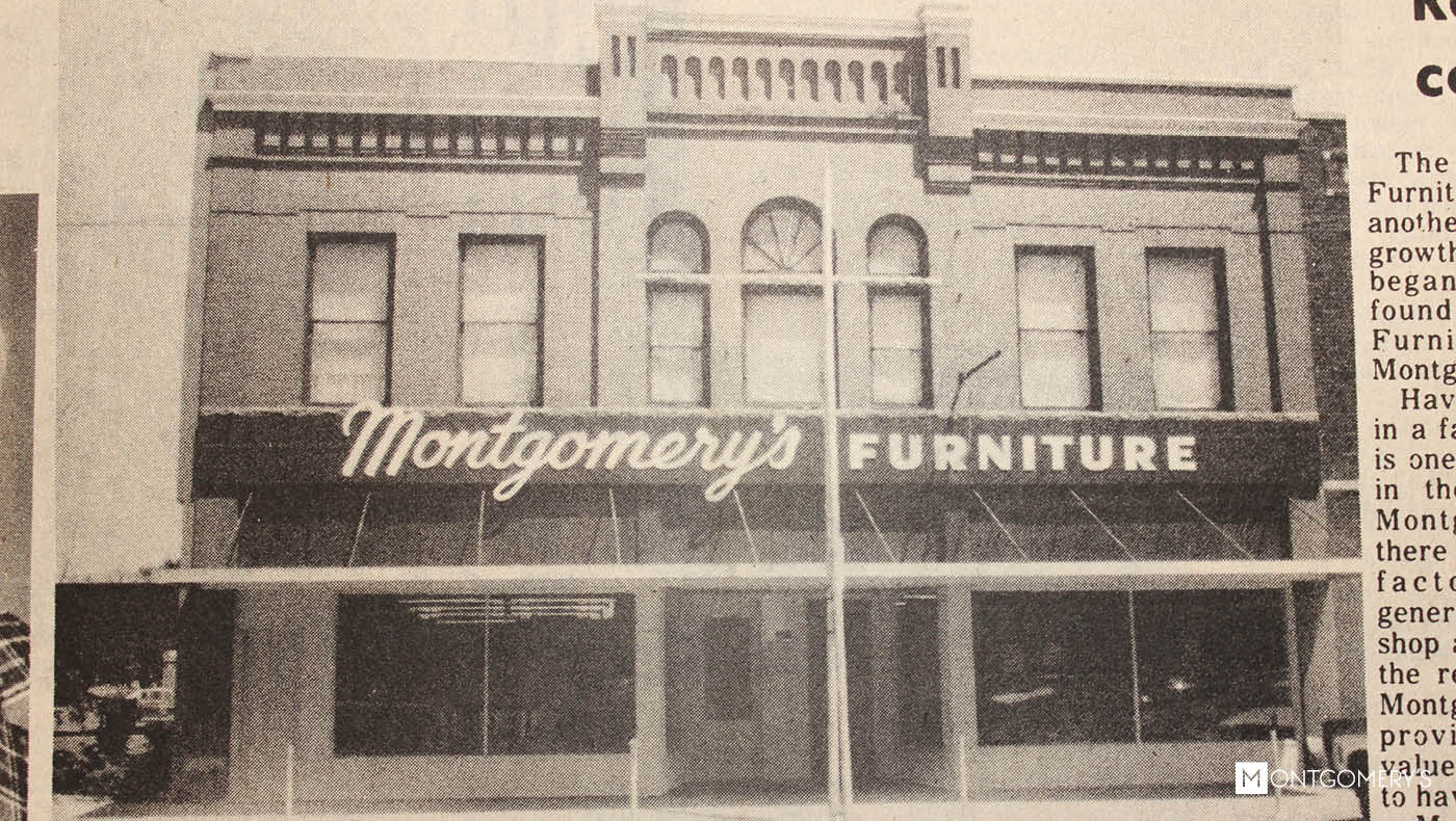 1888 U2013 7 May U2013 George H. Montgomery Founded Montgomeryu0027s Furniture And  Funeral In Alexandria, South Dakota. Alexandria Was Only Eight Years Old  And SD Was ...